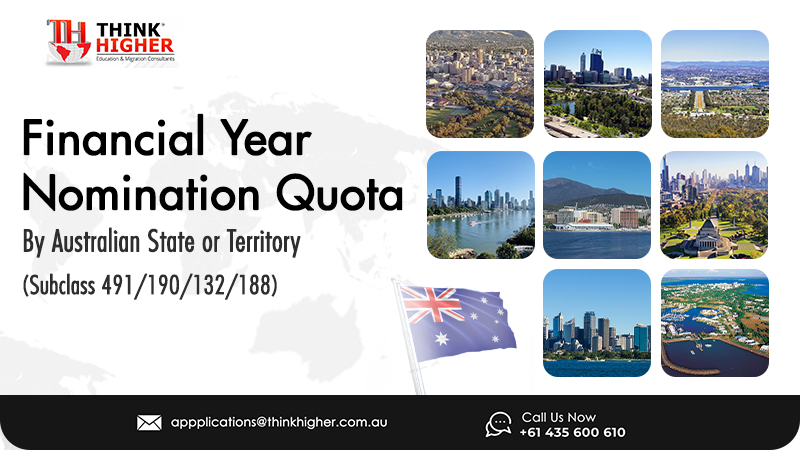 Financial Year Nomination Quota By State Or Territory 2021