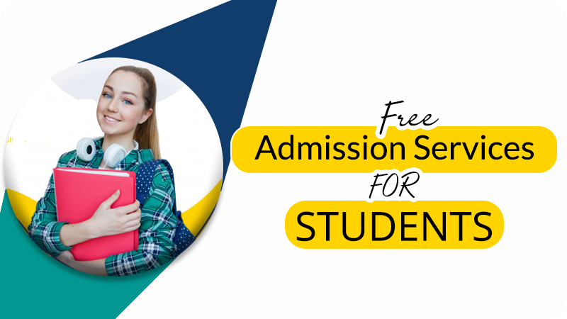 Free Admission Services For Students